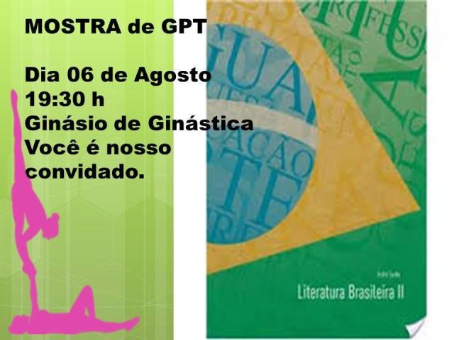 Convite Mostra GPT